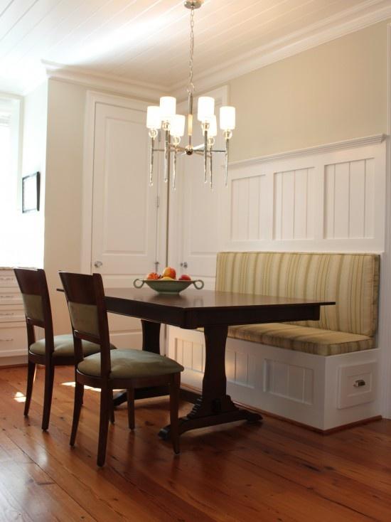 Banquette Seating Dream Kitchens Pinterest Craftsman