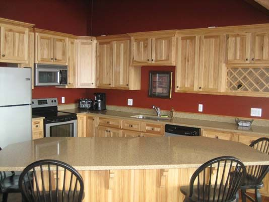 Kitchen Design Hickory Cabinets Hickory Kitchen Cabinets
