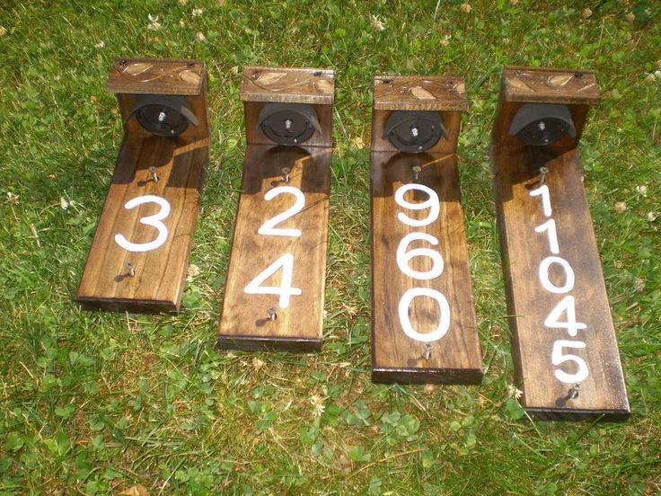 25+ Best Ideas About House Numbers On Pinterest