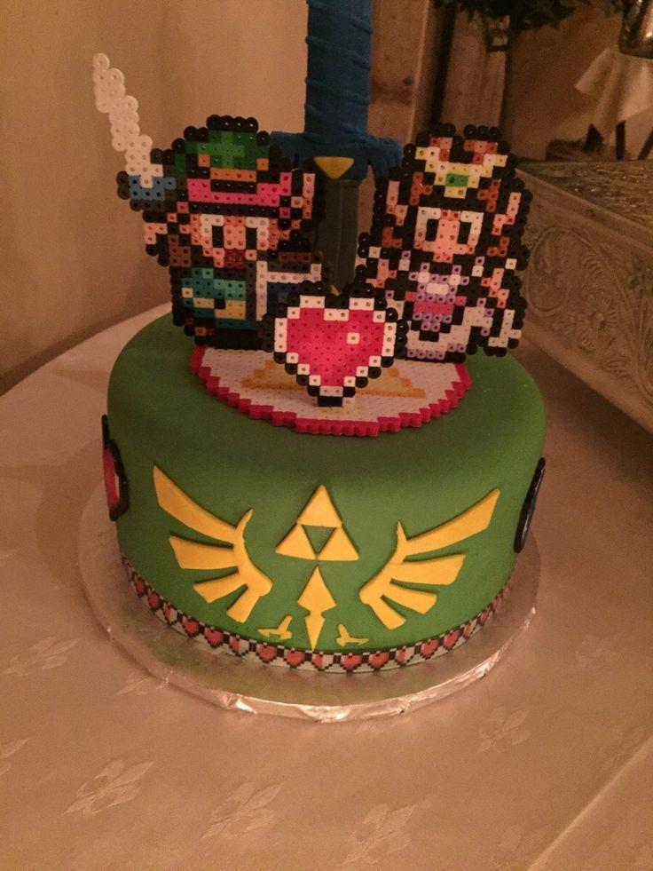LegendofZelda Cake Video Game Fun Pinterest Legends