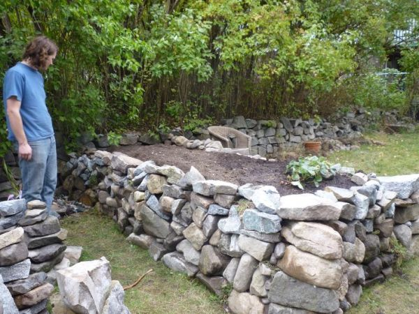 rock raised garden bed ideas 17 Best images about Garden Ideas on Pinterest | Bearded