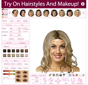 Virtual Makeover Upload Your Photo And View Yourself