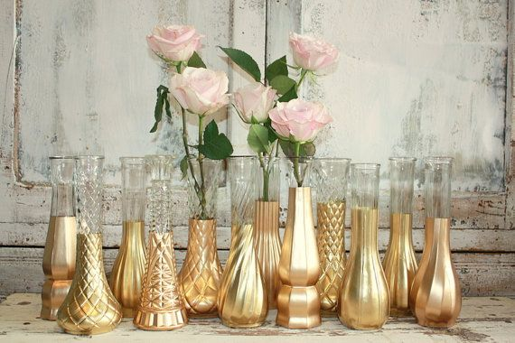 Best 25 Gold Vases Ideas On Pinterest Dollar Store