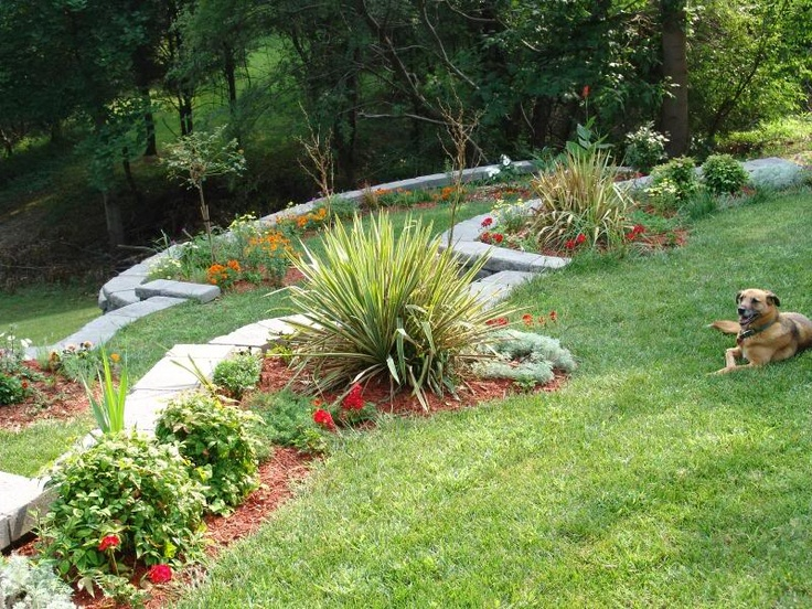 Top 25 ideas about Landscaping Hills on Pinterest | Stone ... on Backyard Hill Landscaping Ideas  id=73376