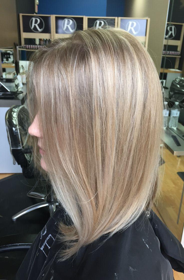 Blonde Hair Highlight Balayage Redken Mid Length