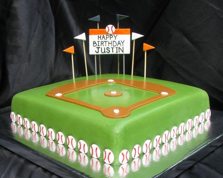 1000 Ideas About Baseball Wedding Cakes On Pinterest