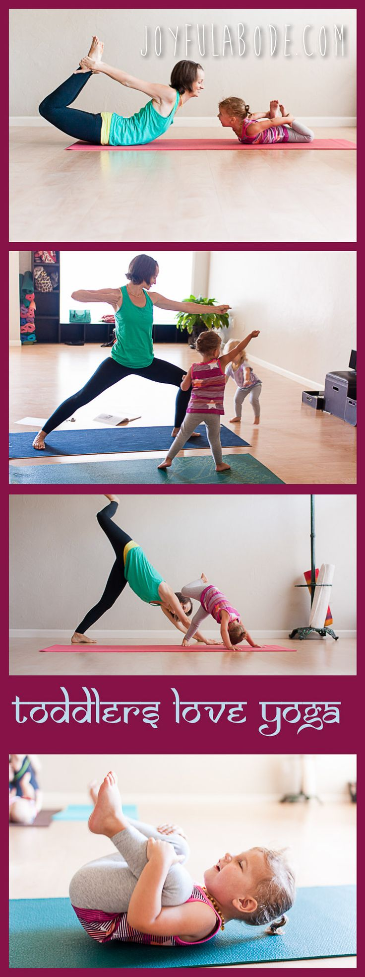 Ive started doing yoga every morning with my 3 year old daughter before work & s