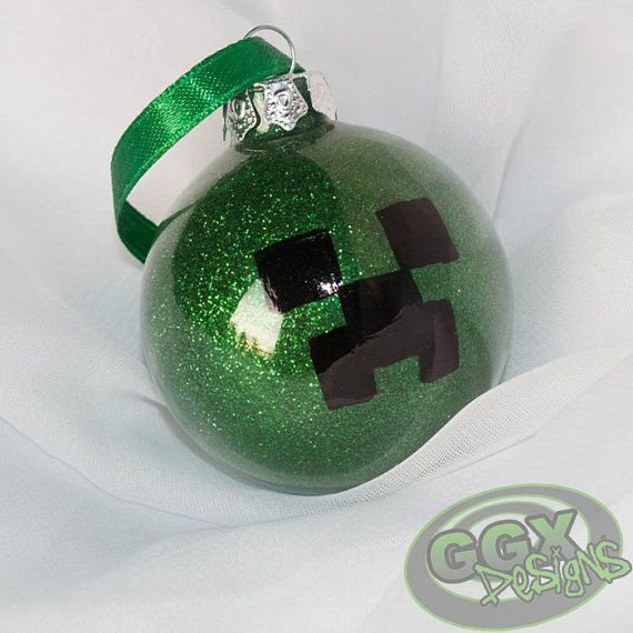 Creeper Themed Ornament By GGXDesigns On Etsy 350