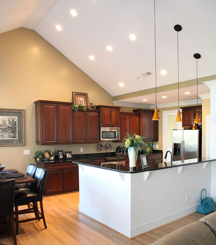 top 25 ideas about vaulted ceiling kitchen ideas on pinterest mother nature mantles and on kitchen cabinets vaulted ceiling id=56250