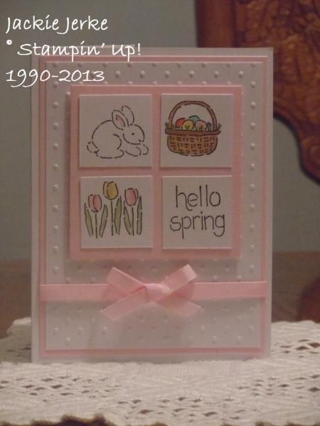 Easter cards 2013 by JJ Rubberduck – Cards and Paper Crafts at Splitcoaststamper