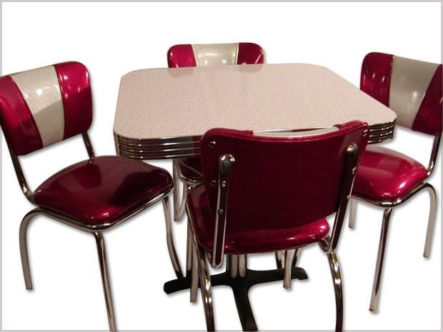 1950s Dining Table And Chairs Retro Furniture Ideas