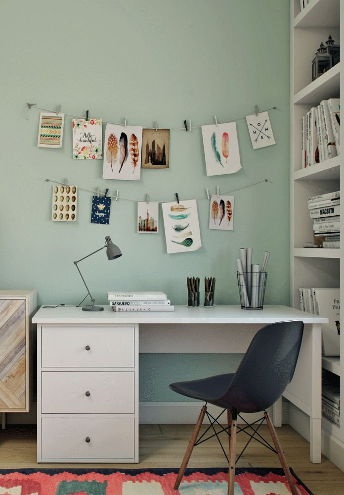 desk in the teenage girls bedroom colorful and cozy on desk color ideas id=45604