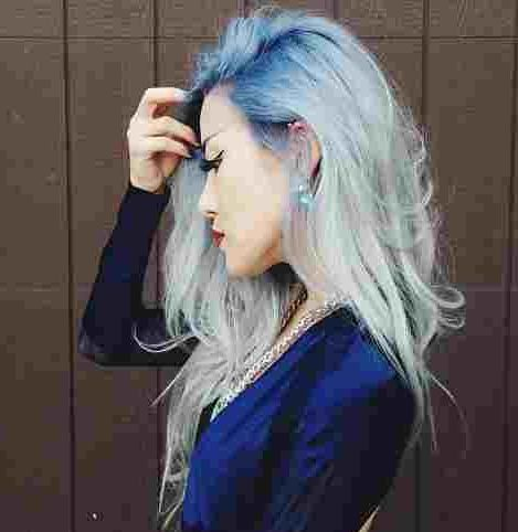 blue and white faded ombre hair makeup pinterest blue and ombre and blue and white