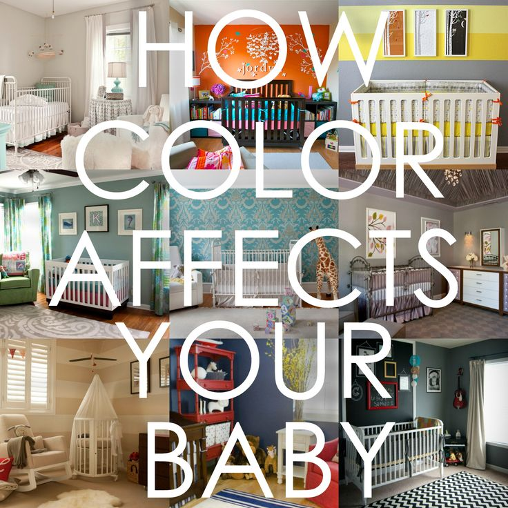 How Color Affects Your Baby – This could help you decide on nursery colors! | Project Nursery