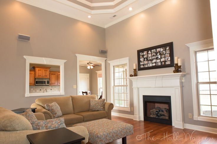 family room behr perfect taupe so chris and i may have on most popular wall paint colors id=74726