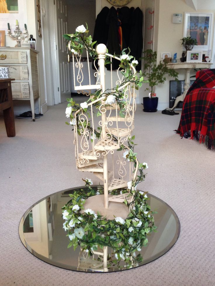 Cupcake Stand Made From Spiral Staircase Very Different