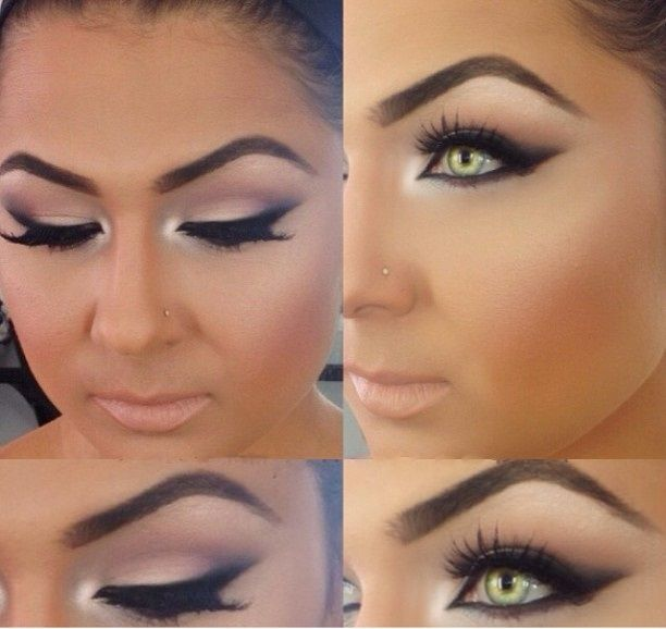 Try this look in Merle Norman! Fall Shadow Trio in Prim  Proper, paired with Clo