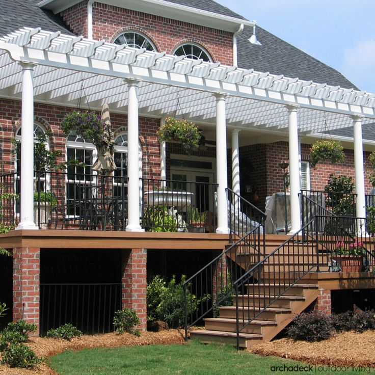 84 best images about Elevated and raised deck ideas on ... on Raised Patio Designs  id=36689