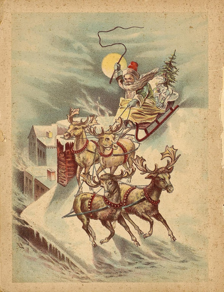 560 Best Images About Santa Amp His Sleigh On Pinterest