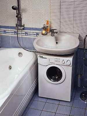 Decorating Your Laundry Room in Eco Style   Washers, Wall ... on Small Space Small Bathroom Ideas With Washing Machine id=50001