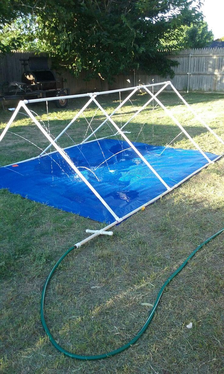 Pvc Water Sprinklerslip N Slide Projects Pinterest Water