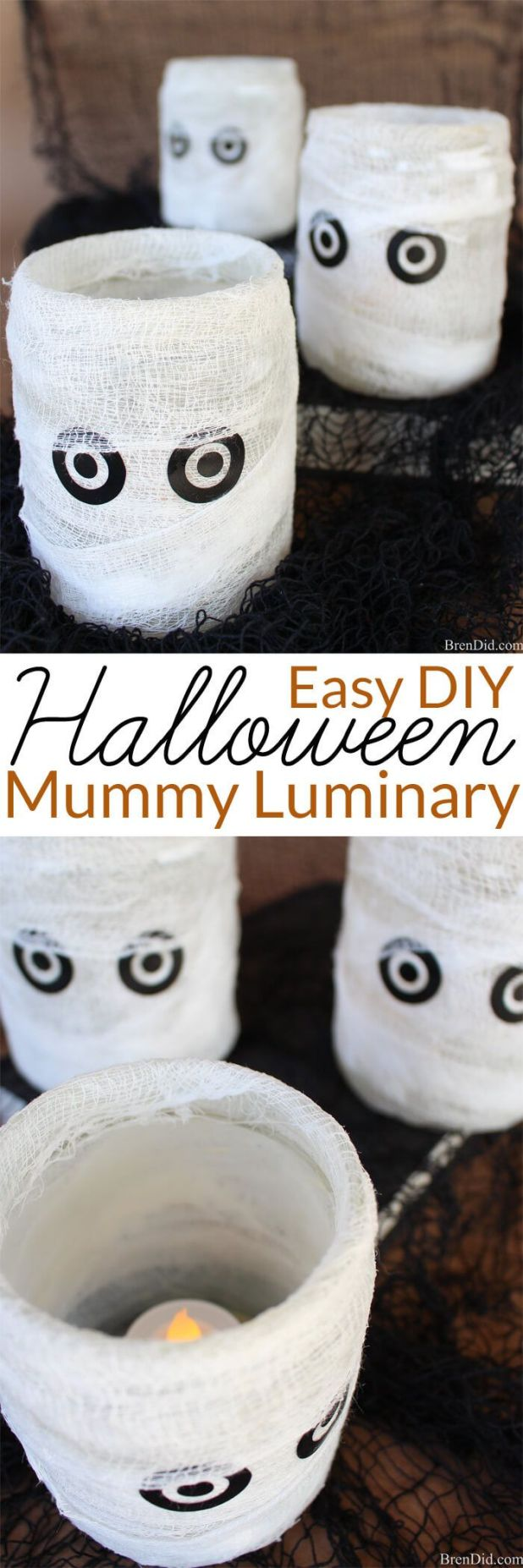 Halloween Decoration To Make. Awesome Halloween Candles Made From ...