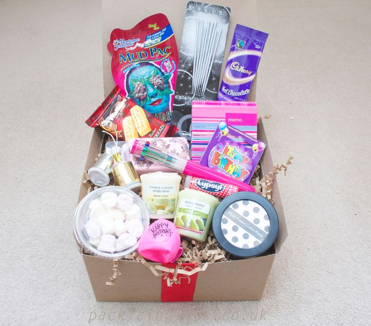 Happy birthday for her awesome filler gift box for a