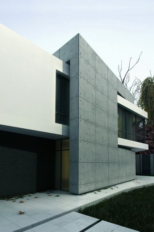 ADDITIVE FORM / INTERLOCKING SPACES: Ultra modern house ...