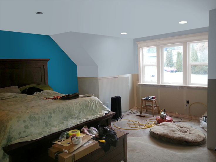 Photoshop Trial Of Master Bedroom With Valspar Colors