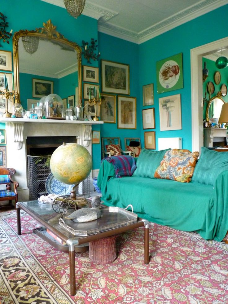 25 Best Ideas About Turquoise Walls On Pinterest Bright Colored Rooms Eclectic Shelving And