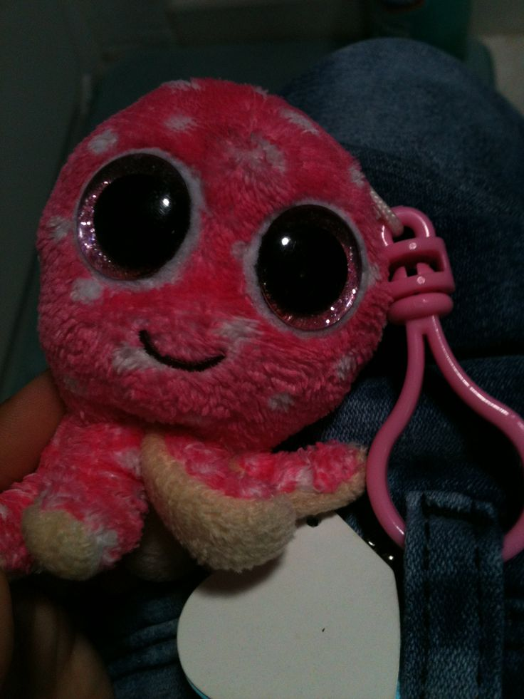 Octopus Ollie Beanie Boo Keychain Funny Things