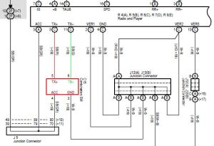 Steering controls wiring | Toyota Blade Stereo | Pinterest