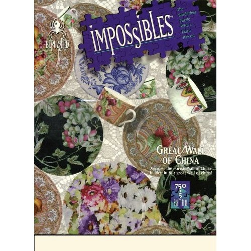 amazon com impossibles puzzle great wall of china 750 on great wall of china id=21088