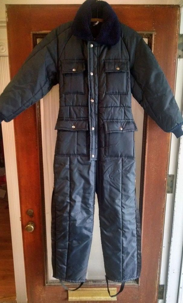 vtg walls blizzard pruf snowmobile suit womens small on walls insulated coveralls blizzard pruf id=94184
