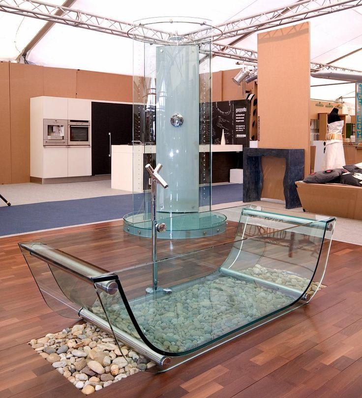 17 Best Images About Glass Bathtub On Pinterest Bath