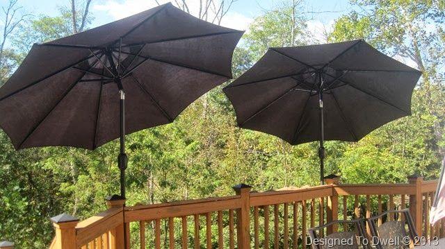 Deck Mounted Umbrellas Yardwork Pinterest Decks Diy