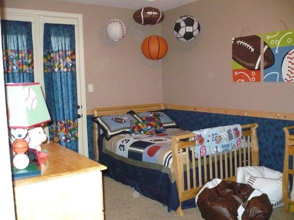 Sports-theme Room - Boys' Room