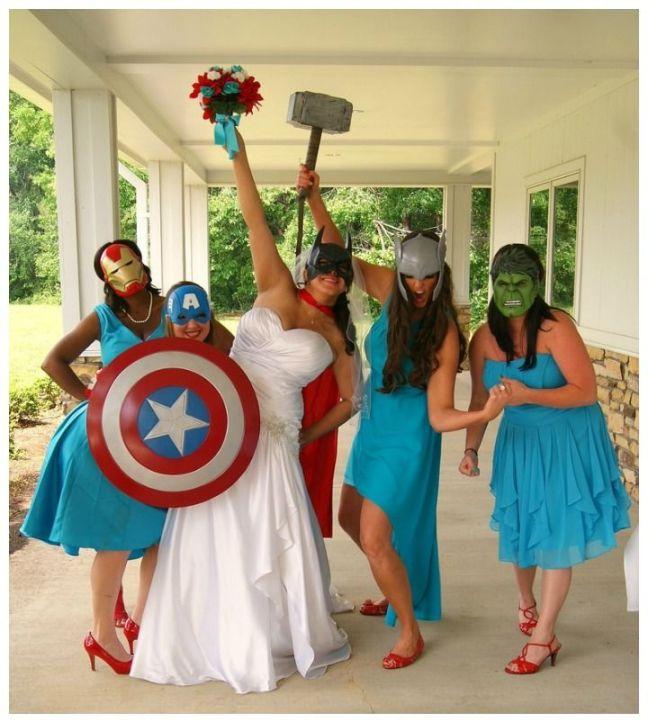 BAM, POW! Amazing Comic Book Wedding Ideas - BOOK RIOT: