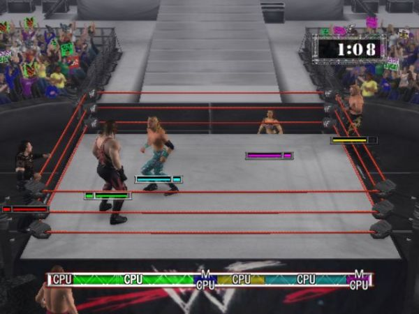 WWE RAW 2002 Video Game Images