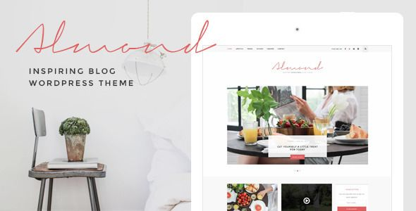 Almond - Inspiring Blog WordPress Theme - Personal Blog / Magazine: