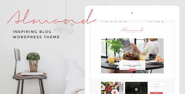 Almond - Inspiring Blog WordPress Theme - Personal Blog / Magazine: