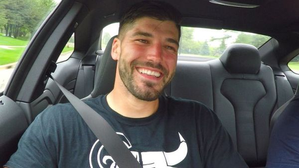 Bears tight end Zach Miller goes for a ride with Anthony ...