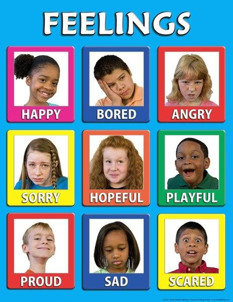 Preschool Feelings - 30 Mini Posters | Teaching My Kids ...