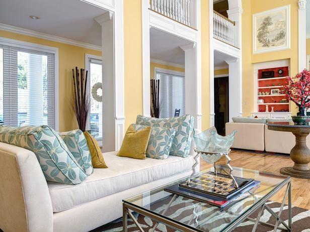 Contemporary Living Rooms, HGTV Designers' Portfolio