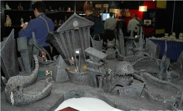 Nightmare Town would make an awesome Malifaux Board ...