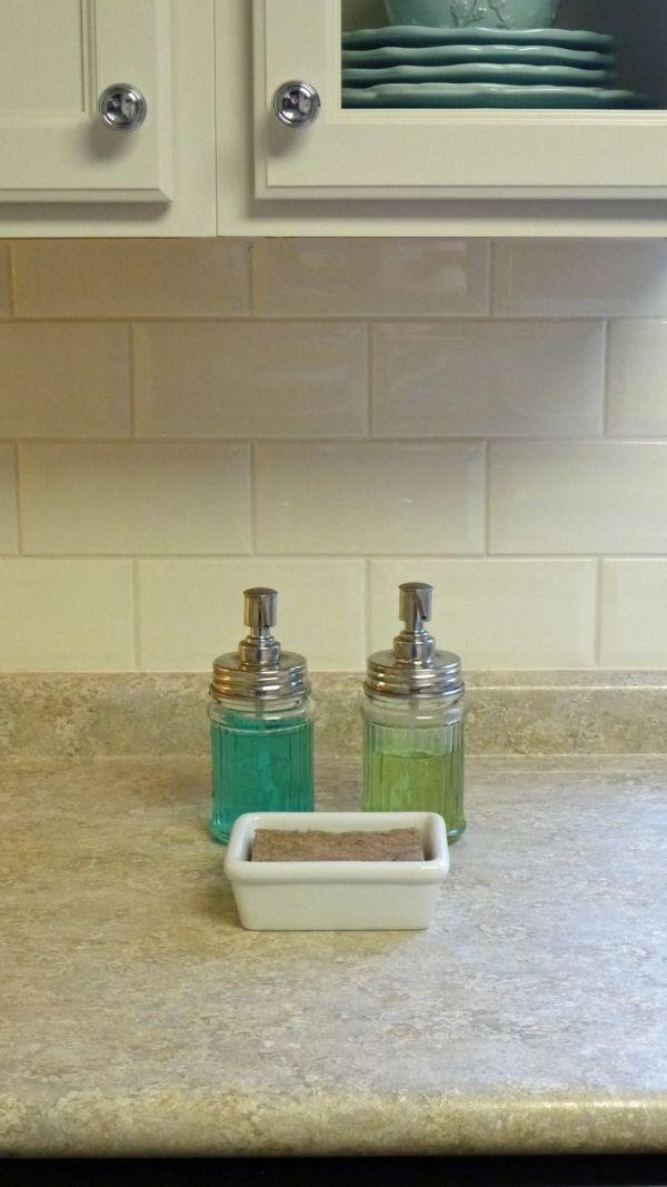 Wilsonart laminate counters Silver Travertine http