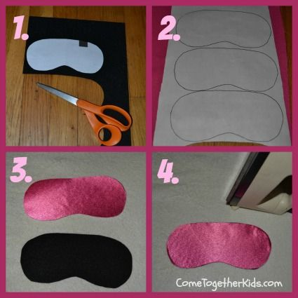 felt & 1 other cloth layers use cheap headbands between layers – easier than elastic! Come Together Kids: Personalized Pillowcases