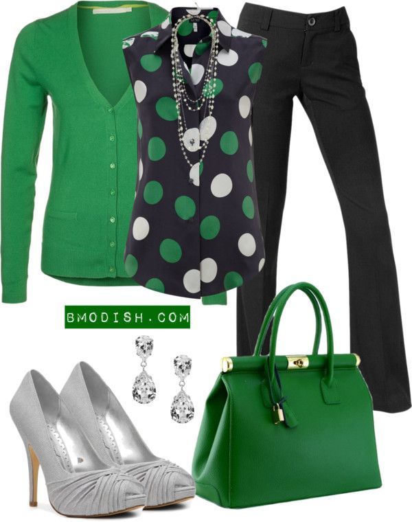 """""""Work outfit"""" by wulanizer on Polyvore – I dont care for the accessories though."""