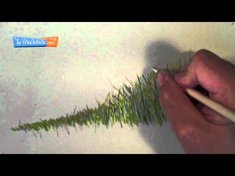 How To Draw Grass Colored Pencils Zentangle Amp Art
