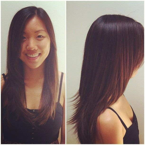 Long Layers Round Layers Asian Hair My Work